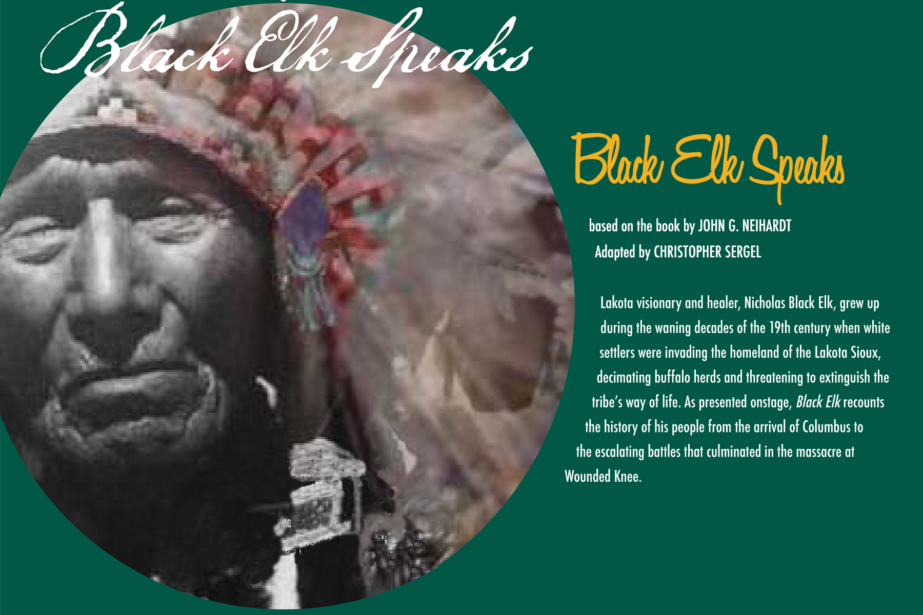 a review of the story black elk Book reviews 187 the gift of the sacred pipe by black elk originally recorded and edited by joseph epes brown edited and illustrated by vera.